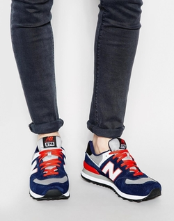 Suede Sneakers by New Balance in Vacation
