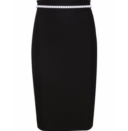 Pearl Embellished Pencil Skirt by Mugler in Empire - Season 2 Episode 14