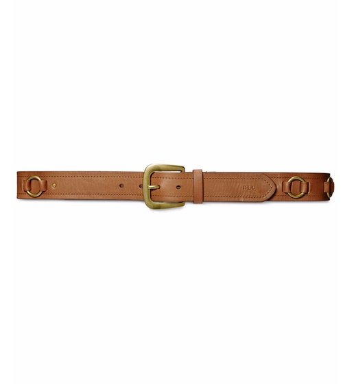 Eastwood Belt by Lauren Ralph Lauren in Kong: Skull Island