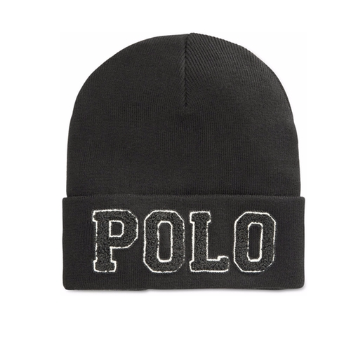 Chenille Varsity Beanie by Polo Ralph Lauren in All Eyez on Me