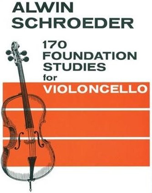 170 Foundation Studies Volume 1 For Cello by Schroeder By Carl Fischer in If I Stay
