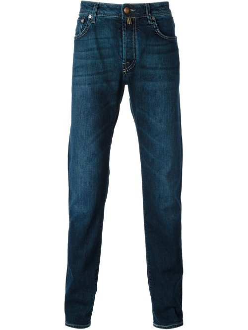 Stone Washed Jeans by Jacob Cohen in The Gunman
