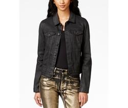 Coated Trucker Jacket by Calvin Klein Jeans in Pretty Little Liars