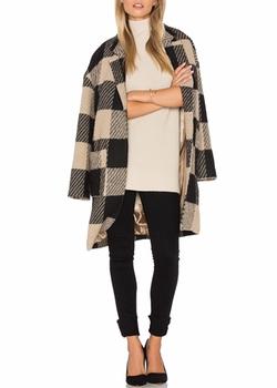 Cora Coat by ASTR in New Girl