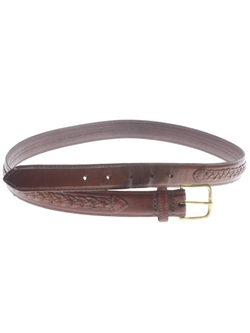 Woven Leather Belt by Missing Mark in The Finest Hours