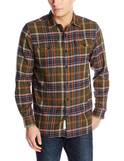 Flannel Button Down Shirt by Field & Stream in The Boy Next Door