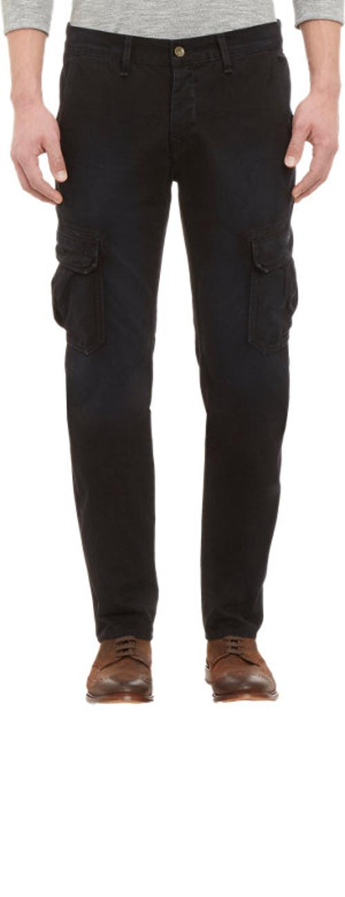 DIS Black Radar Cargo Pants by Rag & Bone in Mortdecai