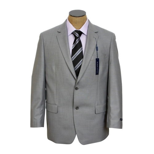Regular-Fit Sharkskin Wool Suit by Ralph Lauren in Crazy, Stupid, Love.