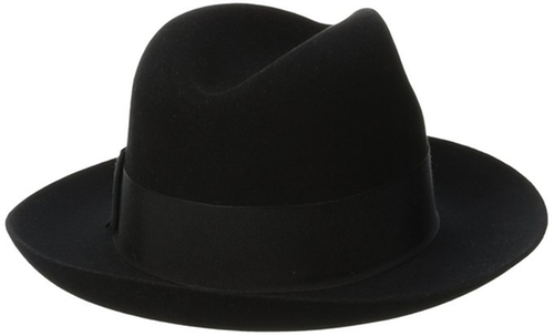Men's Temple Royal Deluxe Fur Felt Hat by Stetson in Empire