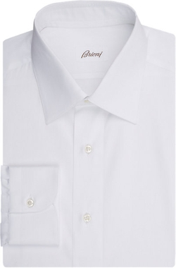 Broadcloth Dress Shirt by Brioni in Suits