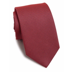 Textured Silk Tie by Eton of Sweden in The Accountant