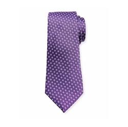 Woven Micro-Daisy Silk Tie by Canali in Designated Survivor