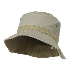 Reversible Washed Bucket Hat by MG in Blended