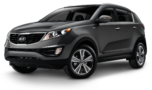 Sportage Crossover Vehicle by Kia in Couple's Retreat