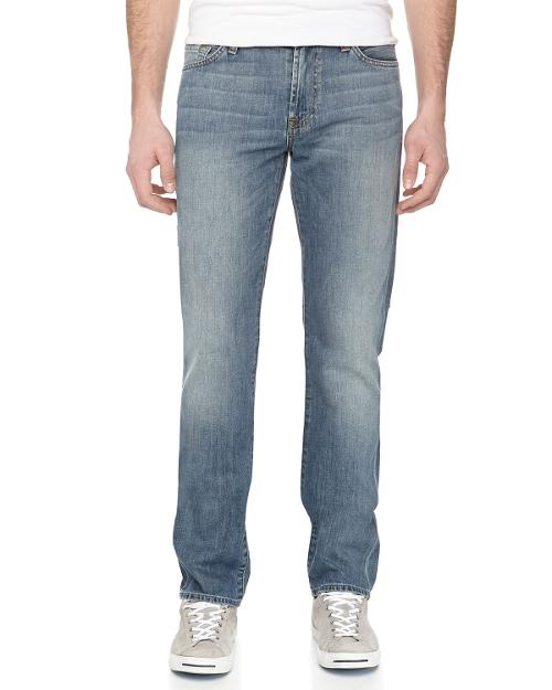 Slimmy Straight-Leg Jeans, Avalon Bay Blue by 7 For All Mankind in X-Men: Days of Future Past
