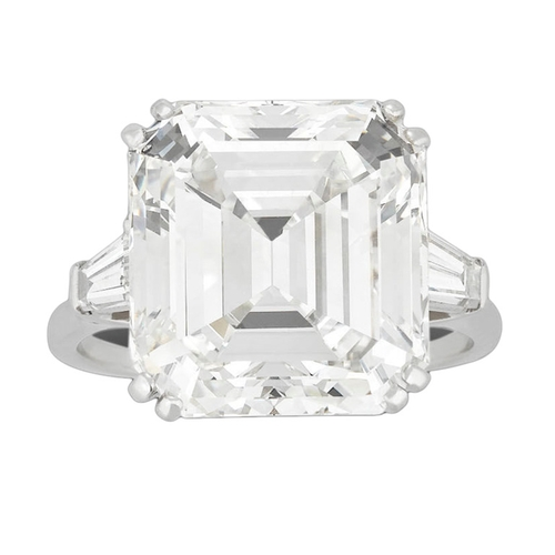 Emerald-Cut Diamond Ring by Harry Winston in Sex and the City