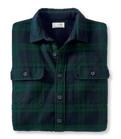 Fleece-Lined Flannel Shirt by LL Bean in Prisoners