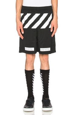Mesh Cargo Shorts by Off-White in Empire