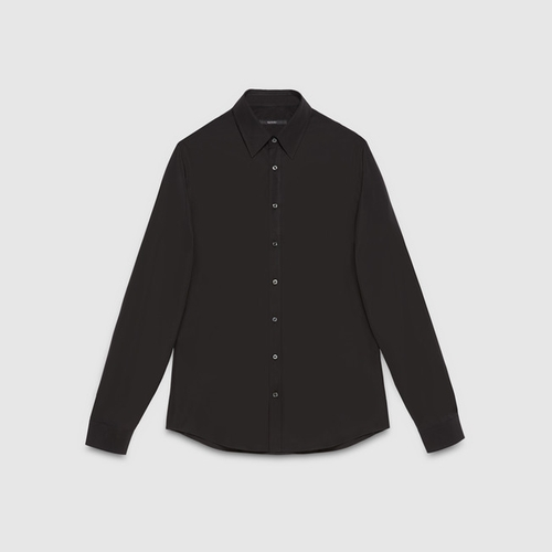 Cotton Poplin Slim Shirt by Gucci in Focus