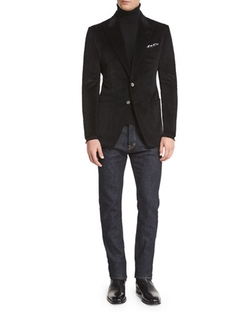 O'connor Base Corduroy Sport Jacket by Tom Ford in Empire