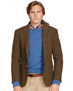 Bedford Guncheck Sport Coat by Ralph Lauren in The Best of Me