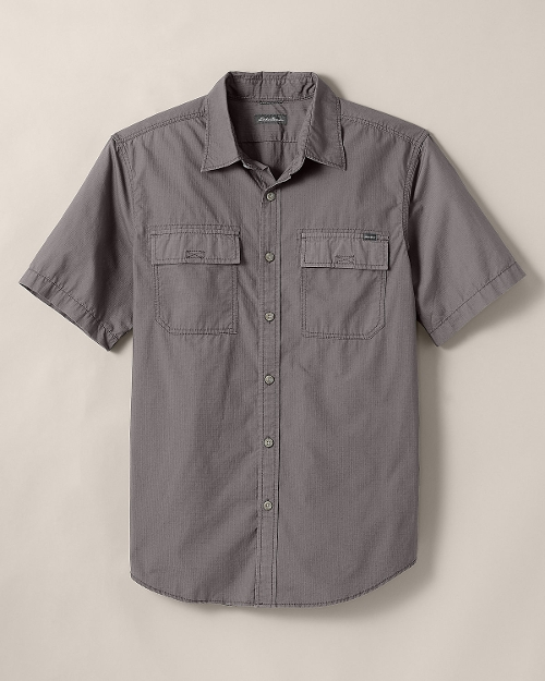 Versatrex Short-Sleeve Ripstop Shirt by Eddie Bauer in Boyhood