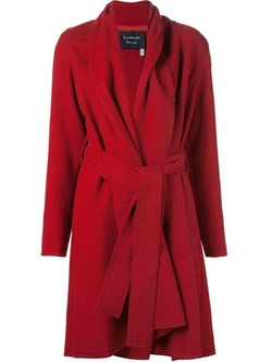 Belted Coat by Lanvin in The Good Wife