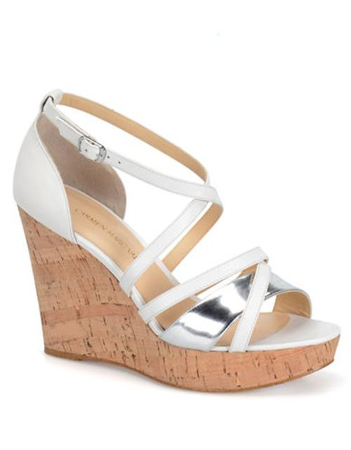 Sabina Wedge Sandals by Carmen Marc Valvo in The Other Woman