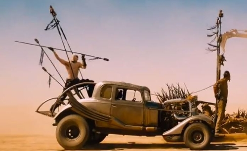 Modified 1932 Five Window Coupe by Ford in Mad Max: Fury Road