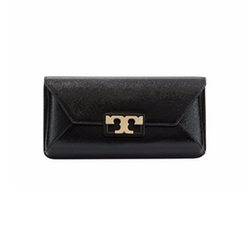 Gigi Leather Clutch Bag by Tory Burch in The Good Fight