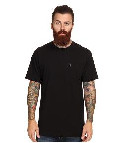 Slub Knit Crew Pocket T-Shirt by Crooks & Castles in Couple's Retreat