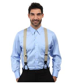 Hudson W/Nickel Clinch Suspender by Trafalgar in Unbroken