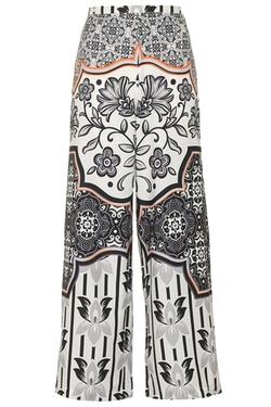 Tile Print Wide Leg Trousers by Topshop in Pretty Little Liars
