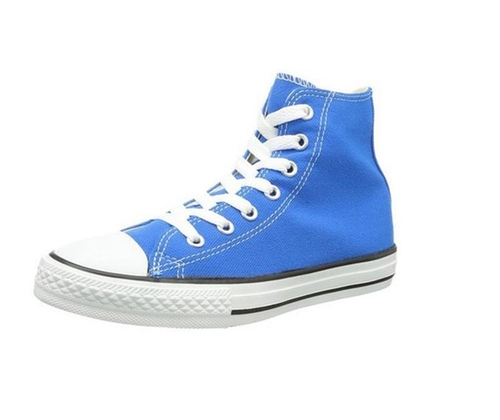 Hi Top All Star Sneakers by Converse in The Fundamentals of Caring