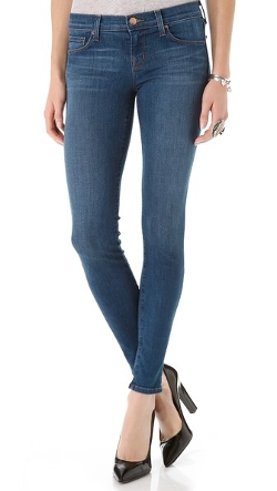 910 Low Rise Skinny Jeans by J Brand in Barely Lethal