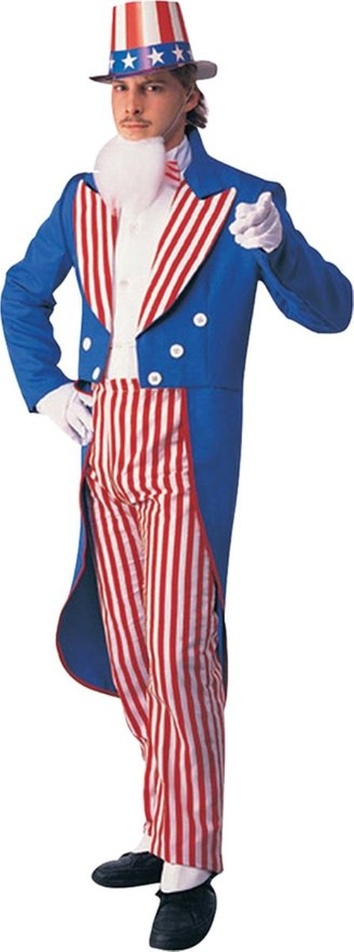 Uncle Sam Adult Costume by Rubie's Costume Co. in Mike and Dave Need Wedding Dates