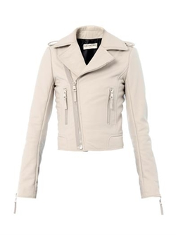 Classic Leather Biker Jacket by Balenciaga in Transformers: Age of Extinction