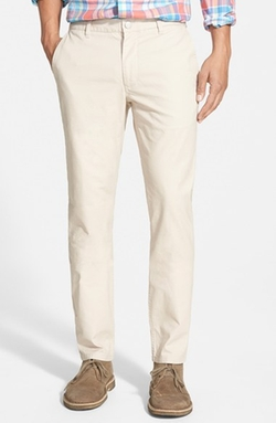 'Cappu-Chinos' Tailored Fit Washed Cotton Chinos by Bonobos in American Pie
