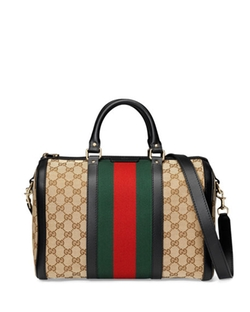 Vintage Web Medium Boston Bag by Gucci in Pretty Little Liars