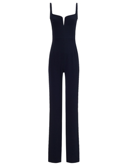 Crepe Bustier Jumpsuit by Galvan in Keeping Up With The Kardashians