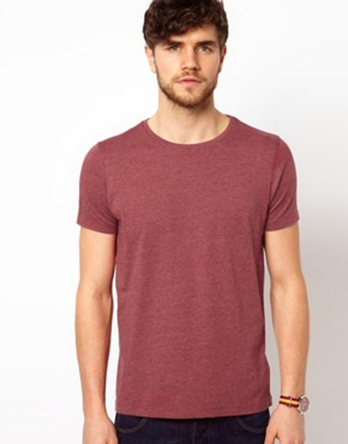 T-Shirt With Crew Neck by ASOS in This Is Where I Leave You
