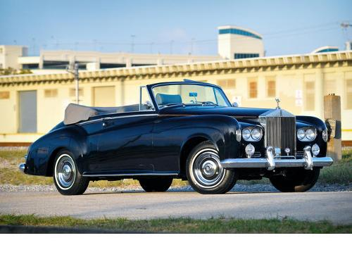 1963 Silver Cloud III Drophead Coupé by Rolls Royce in Mortdecai