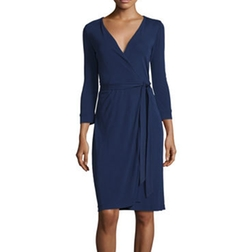 New Julian Two Matte Jersey Wrap Dress by Diane von Furstenberg in The Flash
