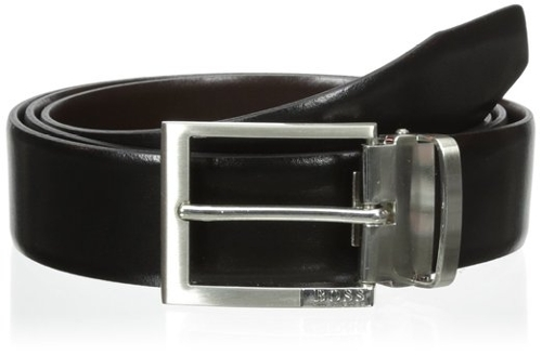 Men's Glenos Belt by Boss Hugo Boss in The D Train