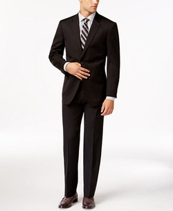 Slim-Fit Solid Suit by Tommy Hilfiger in Modern Family