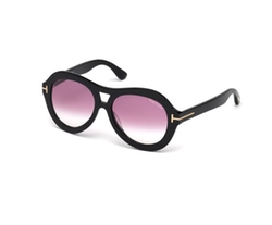 Isla Chunky Aviator Sunglasses by Tom Ford in Atomic Blonde