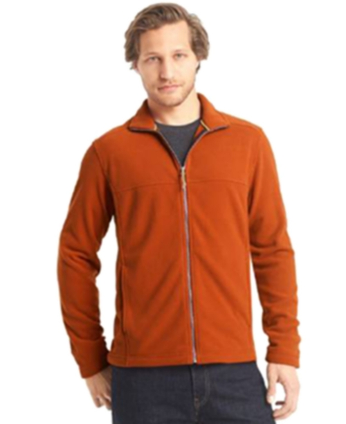 Full-Zip Mock-Neck Arctic Fleece Jacket by G.H. Bass & Co. in The Big Bang Theory - Season 9 Episode 11