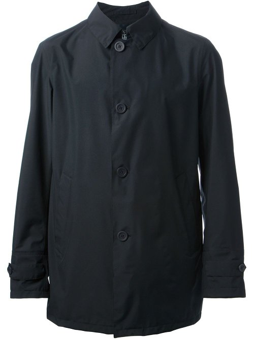 Laminar Trench Coat by Herno in The Gunman