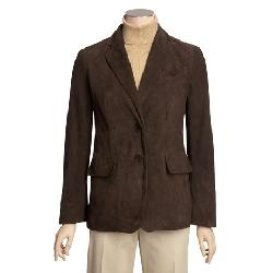 Brown Suede Blazer by 2nds in Oculus