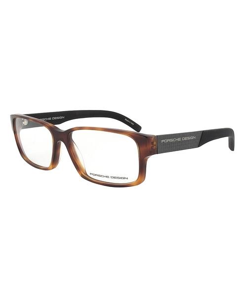 Tortoise Brown Eyeglasses by Porsche in The Intern